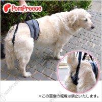 【お買い得】中・大型犬用 後足用 ヘルプパンツ ヒッコリー 8〜10号