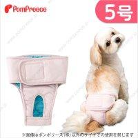 【ズバリ価格】 メス用 洗えるシーシーオムツ 2枚組 [5号]